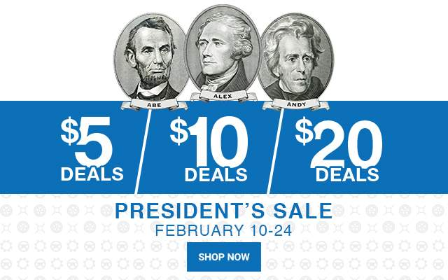 Presidents Day Event Sale