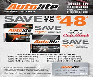 Parts And Accessories Rebates