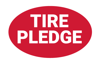 Pep Boys Tire Pledge badge
